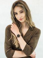 Zegarek różowe złoto klasyczny Mockberg Original MO115 pasek - duże 2