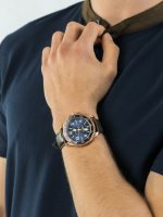 Zegarek różowe złoto klasyczny Nautica Pasek NAPPLH003 pasek - duże 3