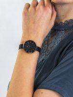 Zegarek różowe złoto klasyczny Obaku Denmark Bransoleta V211LXVLML bransoleta - duże 3