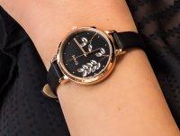 Zegarek różowe złoto klasyczny OUI  ME Fleurette ME010137 pasek - duże 4