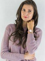 Zegarek różowe złoto klasyczny Sekonda Fashion SEK.2625 pasek - duże 2