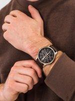 Zegarek różowe złoto klasyczny Tommy Hilfiger Męskie 1791631 pasek - duże 3