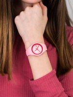 Zegarek różowy fashion/modowy ICE Watch Ice-Duo ICE.001491 pasek - duże 3