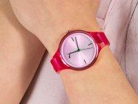 Zegarek różowy klasyczny Puma Reset P1024 pasek - duże 4