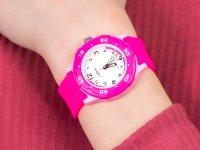 Zegarek różowy sportowy Lorus Dla dzieci RRX17GX9 pasek - duże 4