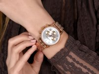 zegarek Rubicon RNBD06RISZ03AX damski z chronograf Bransoleta