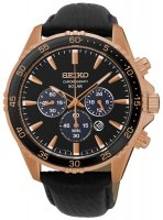 Zegarek męski Seiko chronograph SSC448P1 - duże 1