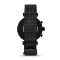 Fossil Smartwatch FTW6055SET Gen 4 Smartwatch Sloan HR Black Stainless Steel Mesh zegarek sportowy Fossil Q
