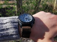 Zegarek sportowy Traser P96 Outdoor Pioneer TS-109045 P96 OdP Evolution Chrono Grey - duże 4