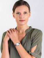 Zegarek srebrny elegancki Citizen Elegance EW2446-81A bransoleta - duże 2