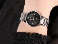 Zegarek srebrny fashion/modowy Caravelle Bransoleta 43P110 bransoleta - duże 4