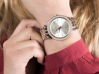 Zegarek srebrny fashion/modowy Michael Kors Darci MK3203 bransoleta - duże 4