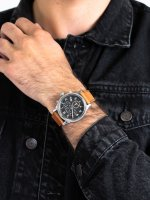Zegarek srebrny fashion/modowy Timex Allied TW2T32900 pasek - duże 3