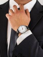 Zegarek srebrny fashion/modowy Timex Southview TW2T34700 pasek - duże 3