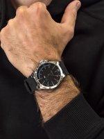 Zegarek srebrny fashion/modowy Tommy Hilfiger Męskie 1791528 pasek - duże 3