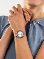 Zegarek srebrny klasyczny Anne Klein Bransoleta AK-2989SVSV bransoleta - duże 3