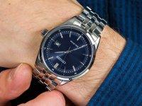 Zegarek srebrny klasyczny Citizen Ecodrive BM7251-53L bransoleta - duże 4