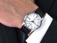 Zegarek srebrny klasyczny Citizen Elegance BI5000-01A pasek - duże 4