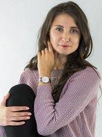 Zegarek srebrny klasyczny Cluse Triomphe CW0101208013 bransoleta - duże 2