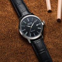 Zegarek srebrny klasyczny Epos Originale 3432.132.20.25.15 pasek - duże 5