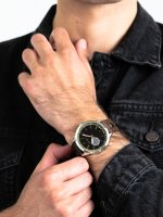 Zegarek srebrny klasyczny Esprit Męskie ES109211003 pasek - duże 3