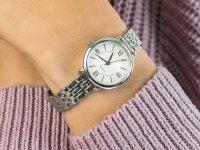 Zegarek srebrny klasyczny Fossil Jacqueline ES3797 bransoleta - duże 4