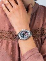 Zegarek srebrny klasyczny Guess Bransoleta W1201L1 bransoleta - duże 3