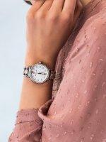 Zegarek srebrny klasyczny Michael Kors Sofie MK4458 bransoleta - duże 3