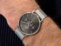 Zegarek srebrny klasyczny Pierre Ricaud Bransoleta P60024.5156QF bransoleta - duże 4