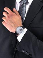 Zegarek srebrny klasyczny Timex Waterbury TW2U11500 pasek - duże 3