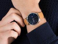 Zegarek srebrny klasyczny Tommy Hilfiger Męskie 1791652 pasek - duże 4
