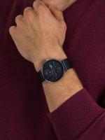 Zegarek srebrny Lorus Sportowe RM365FX9 pasek - duże 3