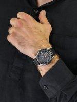 Zegarek srebrny luksusowy Citizen Radio Controlled AT8158-14H pasek - duże 3