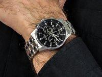 Zegarek srebrny sportowy Davosa Executive 163.481.55 bransoleta - duże 4