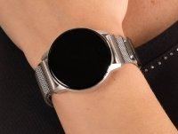 Garett 5903246286311 Smartwatch Garett Lady Bella srebrny stalowy zegarek sportowy Damskie