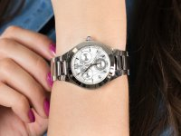 Zegarek srebrny sportowy Invicta Angel 30681 bransoleta - duże 4