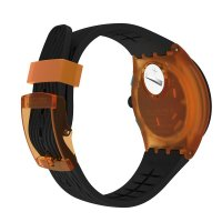 zegarek Swatch SUSO401 ORANGE TIRE męski z chronograf Originals Chrono
