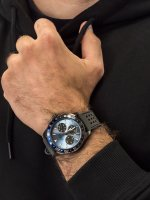 Zegarek szary klasyczny Guess Pasek W1108G6 pasek - duże 3