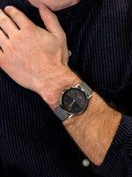 Zegarek szary klasyczny Skagen Kristoffer SKW6501 bransoleta - duże 3