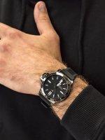 Zegarek szary klasyczny Tommy Hilfiger Męskie 1791587 pasek - duże 3