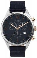 Zegarek męski Timex waterbury TW2U04600 - duże 1