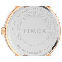 Timex TW2U05500 zegarek różowe złoto klasyczny Originals bransoleta