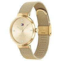 Tommy Hilfiger 1782217 zegarek złoty klasyczny Damskie bransoleta