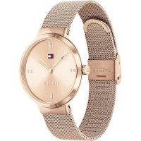 Tommy Hilfiger 1782218 zegarek różowe złoto klasyczny Damskie bransoleta