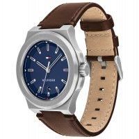Tommy Hilfiger 1791645 zegarek srebrny klasyczny Męskie pasek