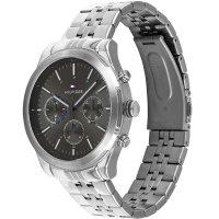 Tommy Hilfiger 1791737 zegarek srebrny fashion/modowy Męskie bransoleta