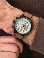Zegarek z chronograf Timex Expedition TW2T73100 - duże 4