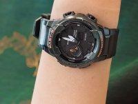 Zegarek zielony sportowy Casio Baby-G BGA-230S-3AER pasek - duże 4