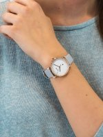 Zegarek złoty fashion/modowy Cluse Le Couronnement CL63001 pasek - duże 3