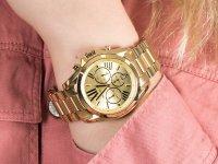 Zegarek złoty fashion/modowy Michael Kors Bradshaw MK5605 bransoleta - duże 4